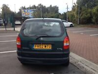VAUXHALL ZAFIRA, AUTOMATIC, 7 seater,5 door with 8 month mot and tax