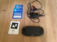 Sony PS Vita 3G Handheld Console plus F1 game great condition hardly used.