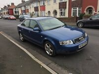 4 wheel Drive Audi A4 1.8 Turbo Quattro 165Bhp Quick to drive 12 months Mot ,px options available