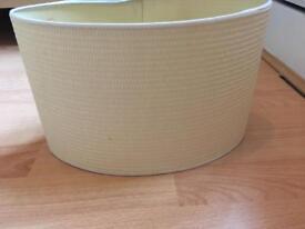 Off white/cream lampshade £2