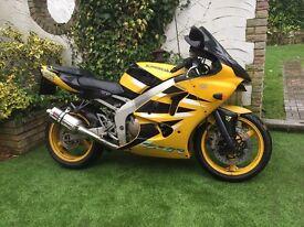 Kawasaki ninja zx6r( not Yamaha, Honda,Suzuki)