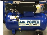 Sealy air compressor used for one job , loads of accessories,