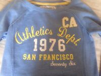 New Look Vintage Sports Apparel Sweat top Size 6