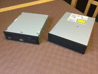 Two IDE DVD ROM/DVR drive units,