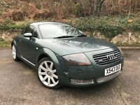 2000 (X) Audi TT Coupe 1.8 T ( 225bhp ) quattro 107,000 MILES DRIVES GREAT FULL SERVICE HISTORY