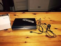 250GB Sky HD Box & Remote Control & Power Cable - Excellent Condition