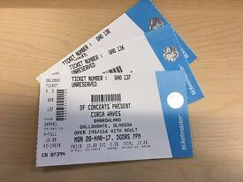 Circa Waves - Barrowlands Tickets - 20th Mar 2017 (£30)