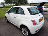 Fiat 500 LOUNGE (white) 2013