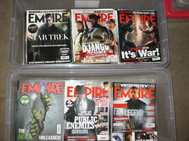 10 year worth of Empire Magazines