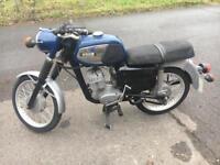 1977 MZ TS150 motorcycle