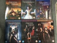 The Vampire diaries dvds