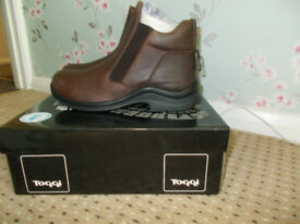 Toggi Suffolk Jodhpur Riding Boots *Brown* Size UK 6/6.5* Brand New!