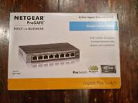 Netgear ProSafe 8 Port Gigabit Ethernet switch