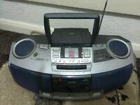 CD radio table cassette AIWA