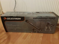 CELESTRON ASTROMASTER 70AZ 70MM REFRACTOR TELESCOPE