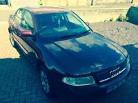 Audi A4 starts and drives but no mot and sorn