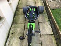 Green Huffy Machine - Go Cart