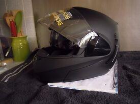 BELL MOTORCYCLE HELMET A280- M10 SOFT MATT BLACK SIZE SMALL 56CM