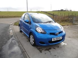 TOYOTA AYGO 1.0 BLUE VVT-I MM 3d AUTO 67 BHP 6 Month RAC Parts & Labour Warranty