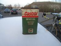 Castrol Vintage oil can Man Cave Collectable
