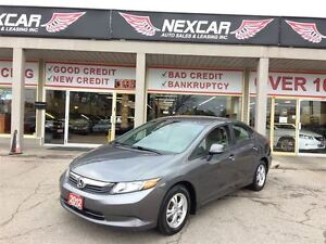 2012 Honda Civic LX AUT0 A/C CRUISE ONLY 93K