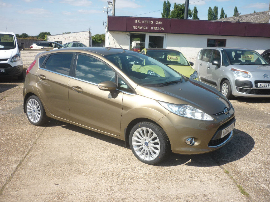 ford fiesta 1 4 tdci titanium 5dr brown 2012 in hethersett norfolk gumtree. Black Bedroom Furniture Sets. Home Design Ideas