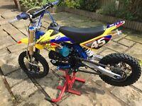 M2R 120 Pitbike 2016