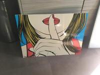 Groovy chic art work