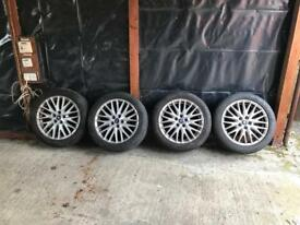 "Ford Focus zetec s alloy wheels 17"""