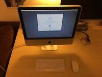 """Apple iMac 20"""" desktop early 2009"""