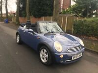 Mini Cooper auto convertible 12 months mot full service history low Milage warranty milage
