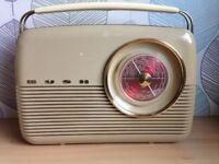 Iconic Vintage Retro Bush Transistor Radio Working VGC