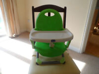 Chicco Booster Seat and Tray