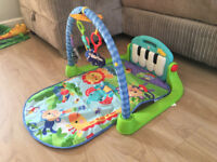 Fisher-Price Kick and Play Piano Gym for toddlers