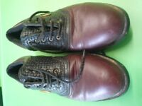 GOLF SHOES SIZE 9.5 GOOD CONDITION, HARDLY USED.