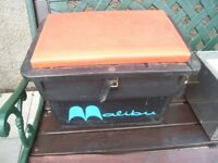 MALIBU TACKLE BOX /SEAT AND ONE OTHER BOX