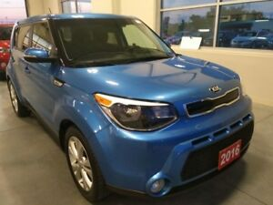 2016 Kia Soul EX HEATED SEATS, CARIBBEAN BLUE