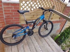 Vertigo Mountain Bicycle in New Condition