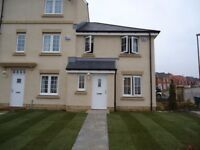 Luxury 3 bed new-build end-terraced house with private garden available February!
