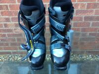 Two pairs adult ski boots