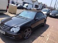 Mercedes clk convertible 200