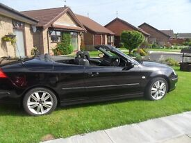 saab convertible vector anniversary 2007 in very good condition