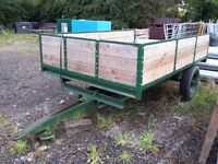 3 tonne tipping trailer 9' x 6'