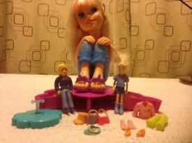 Polly Pocket Styling Doll