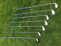 Cobra Golf Irons and Bag