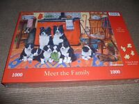 Puzzle- 1000 piece brand new - dog puzzle