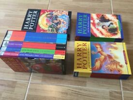 Harry Potter full set of seven books mint.