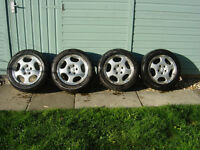 Mercedes Alloy Wheels & Tyres (Fits, VW, Audi & BMW) & VW Campers