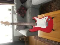 Squire Fender bullet strat electric guitar