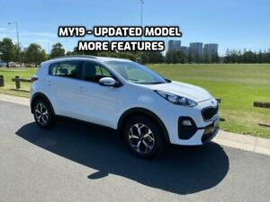 2018 Kia Sportage QL SI WAGON 5DR SPTS AUTO 6SP 2WD 2.0I [MY19] White Sports Automatic Wagon